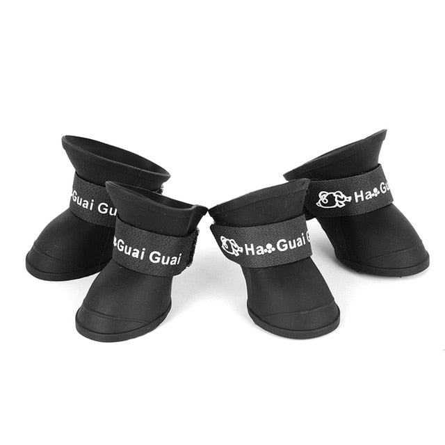 4pcs/Set Waterproof Rubber Rain Boot