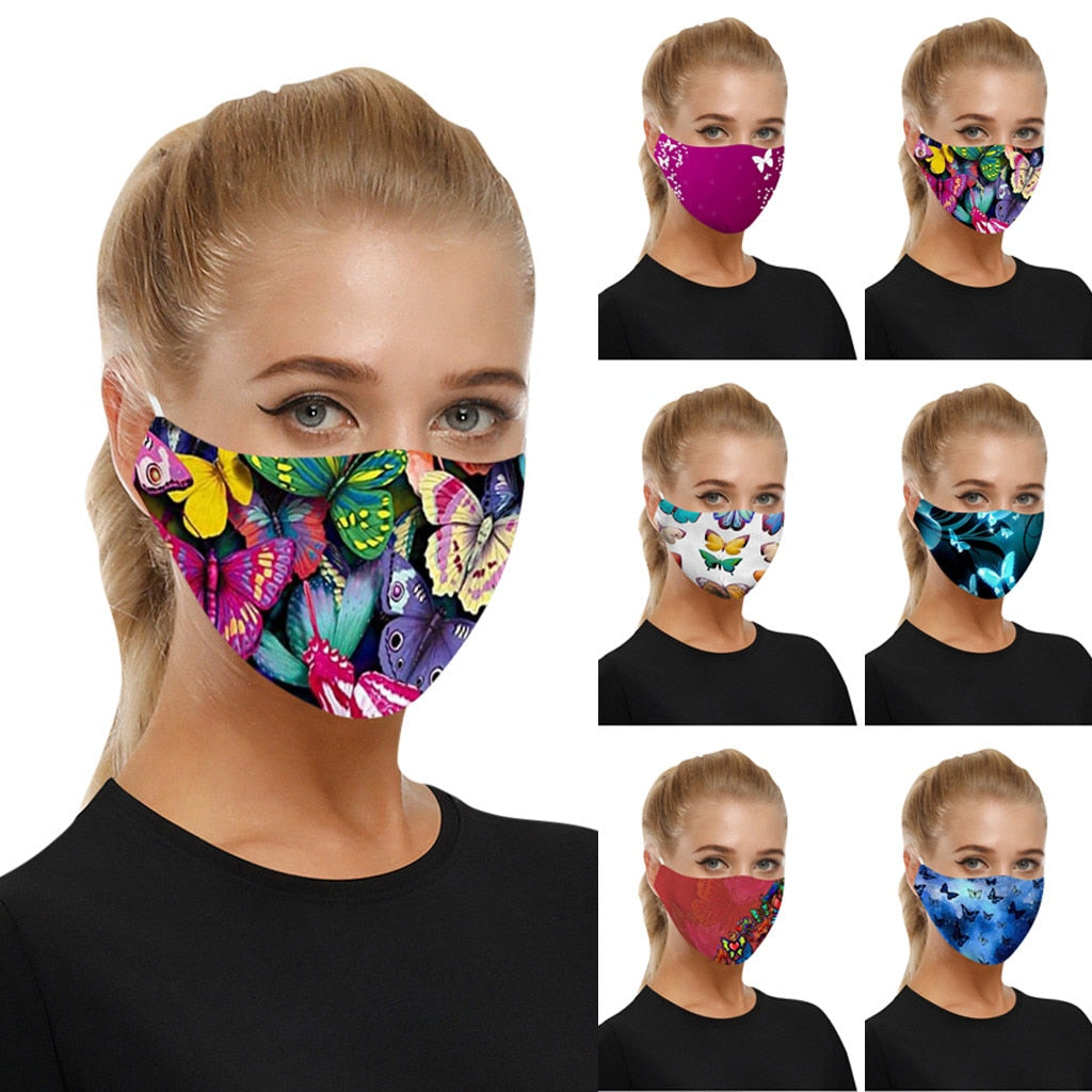 Fashion Mouth Mask Unisex Cotton