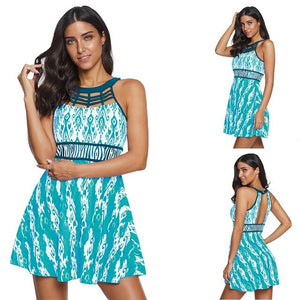 Tankini Plus Size Swimwear Dress
