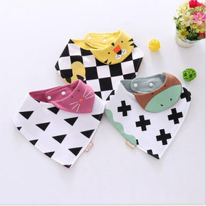 Dog Scarf Cotton Plaid Bandana