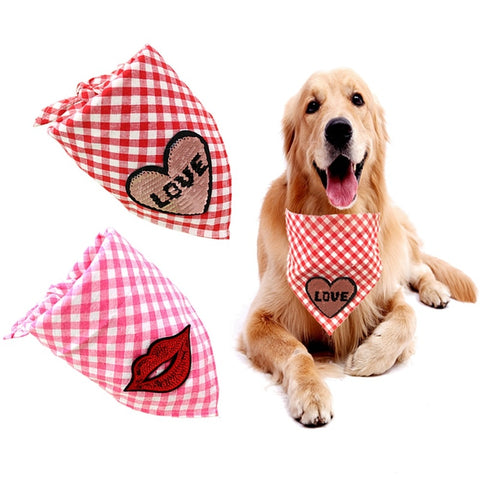 Pet Heart/Love/Kisses Bandanas