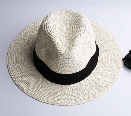 Women's Straw Hat Fedora