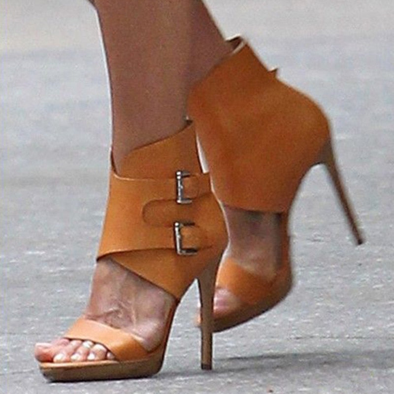 Knish's High Heel Sandals,