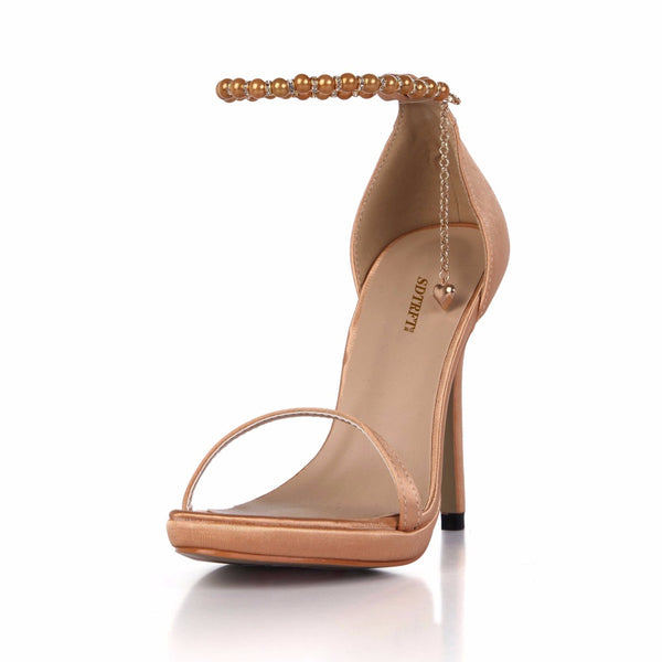 Knish's Pearl Ankle Strap pumps