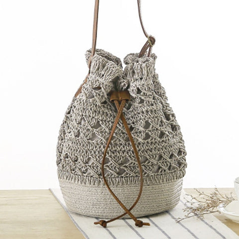 New crocheted Woven Bag