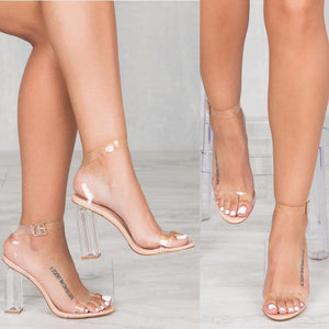 Knish's Transparent Heels