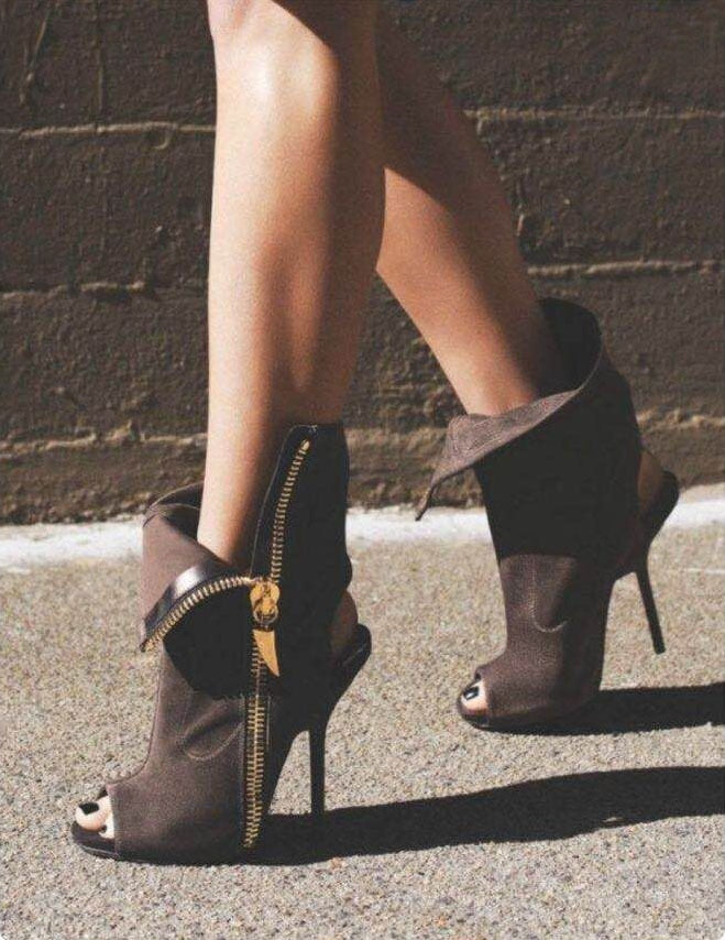 Knish's Slingback Boots