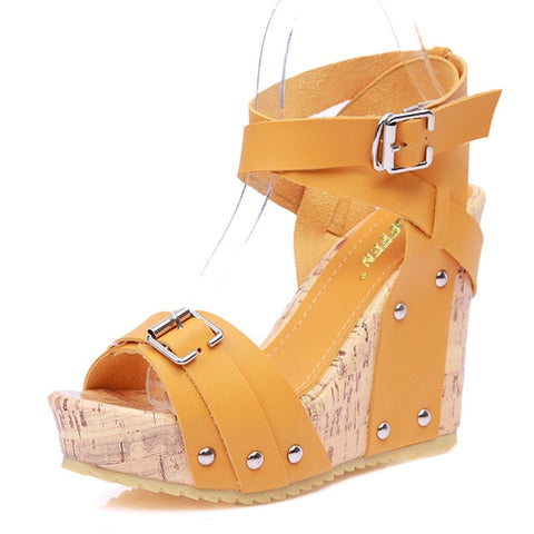 NEW Cork Wedge