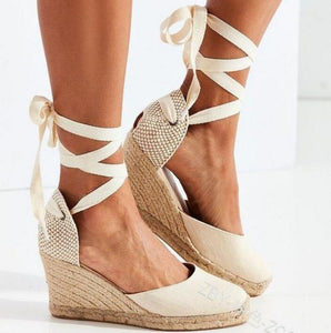 Espadrilles Canvas Wedges