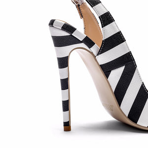Knish's Stripe Charm Shoes