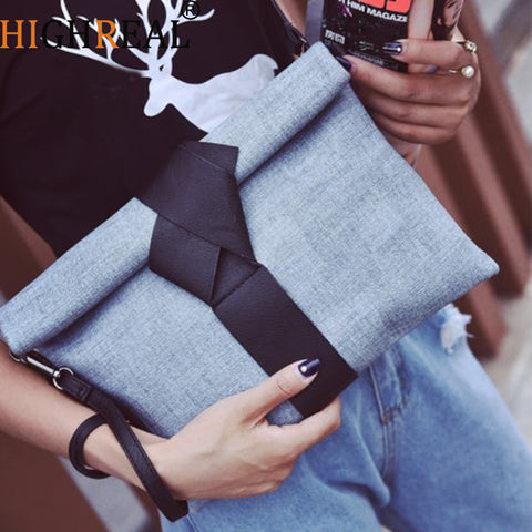 Day Clutches Bow Leather