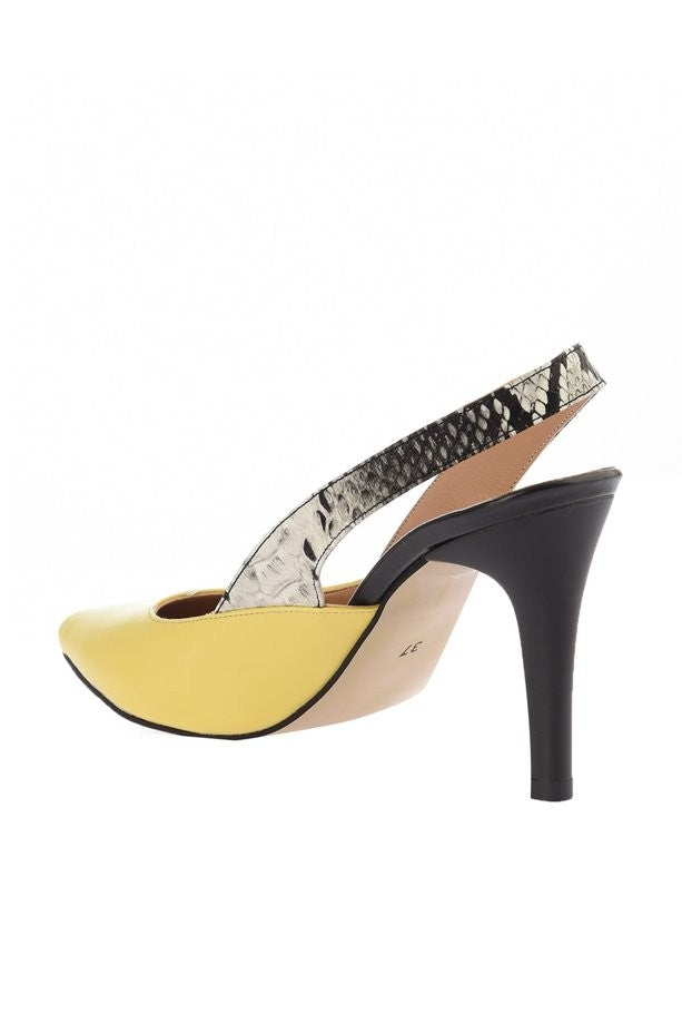 Knish's Yellow High Heels