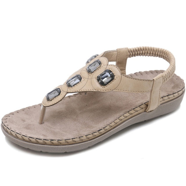 Knish's Crystal Sandals