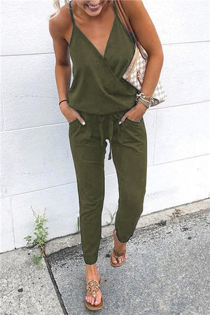 Short Sleeve Jumpsuits