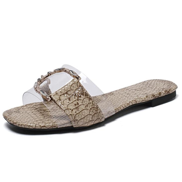 Knish's Clear Slipper Slides