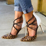 Knish's Glamorous Leopard Heels