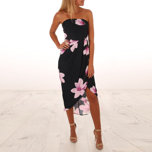 Knish's Floral Tube Dress