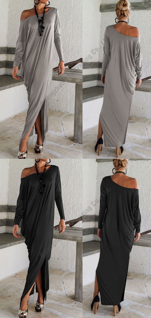 Knish's Long Cotton Dress