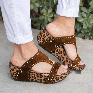 Knish's Leopard Wedges