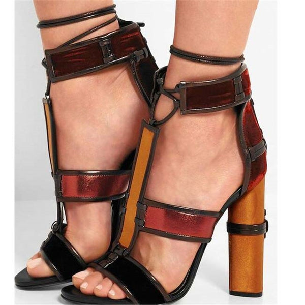 T-tied Runway Shoes