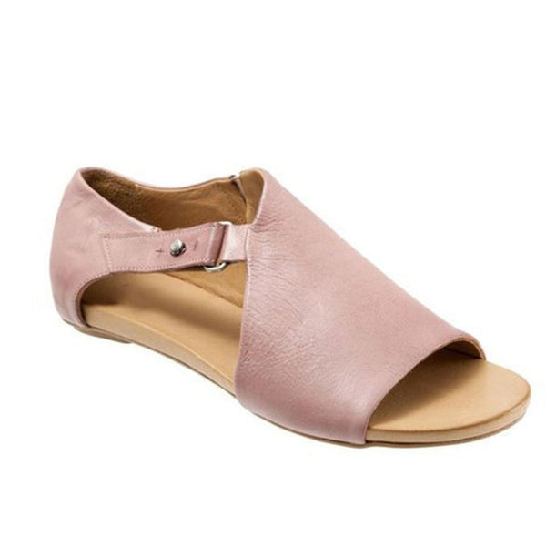 Knish's Pearl Wedge Sandal Flats