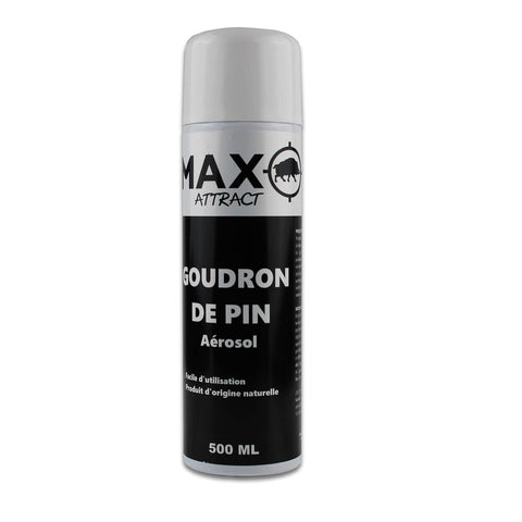 Attractif sanglier goudron de pin Max Attract 500 ml - Approche Chasse