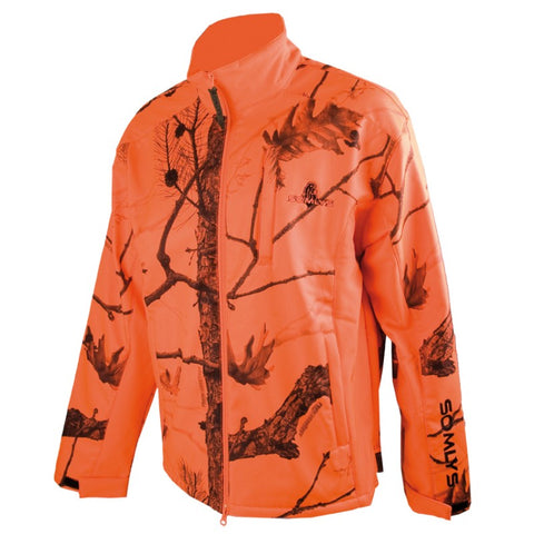 Blouson polaire Softshell Somlys camouflage orange