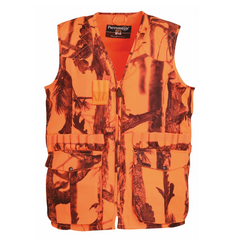 Gilet de chasse Percussion fluo Stronger Ghost Camo Forest