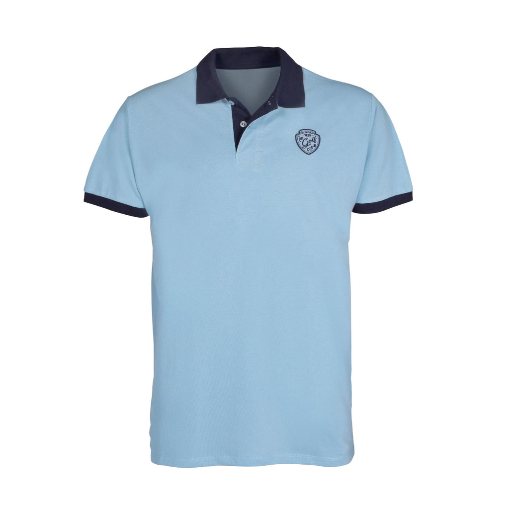 Polo Ligne Verney-Carron The Golf bleu ciel