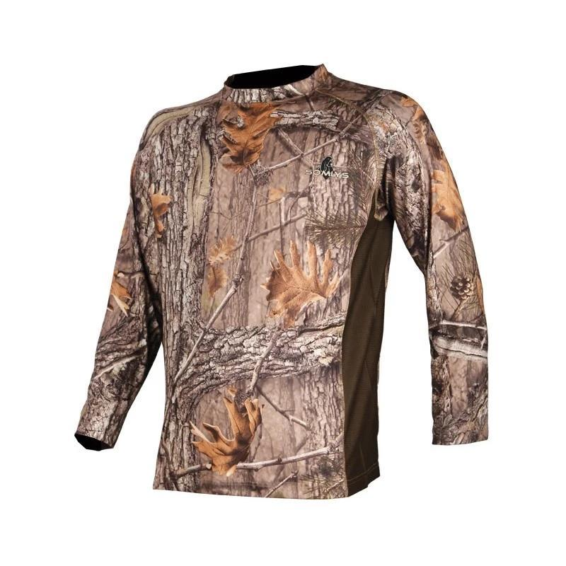 Tee-shirt camouflage de chasse Somlys 3DX ML - Approche Chasse