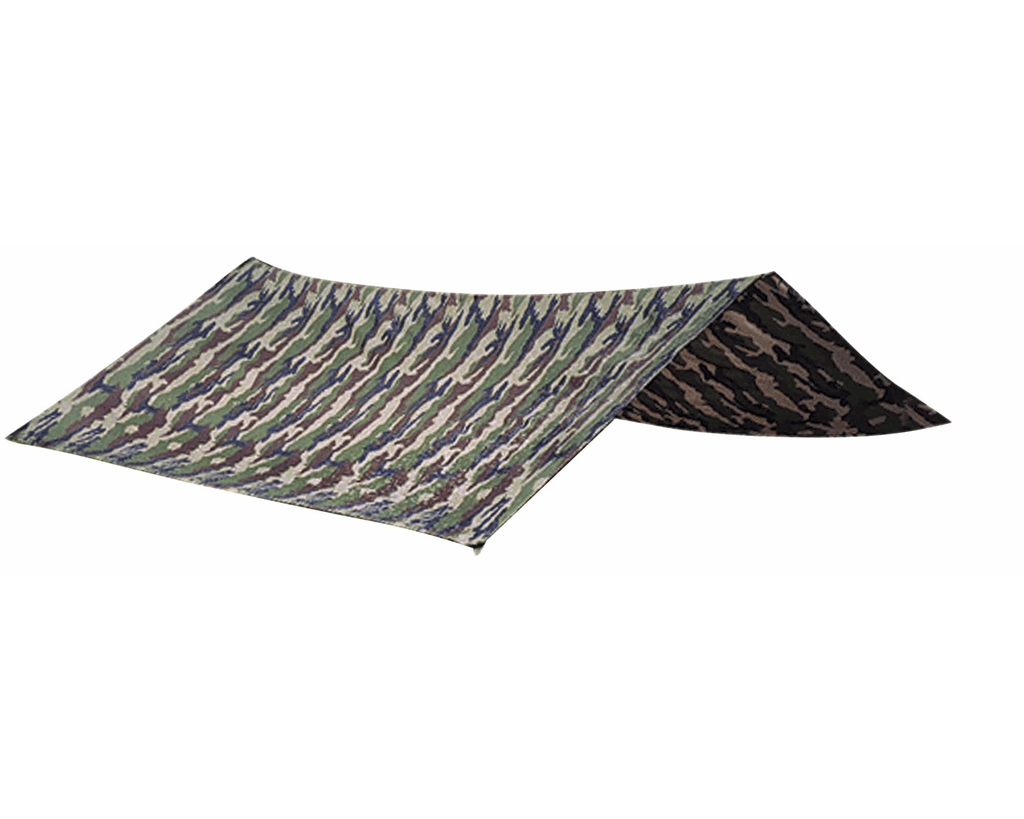 Tarp bâche polyester couture étanche 3 x 3 m - Approche Chasse