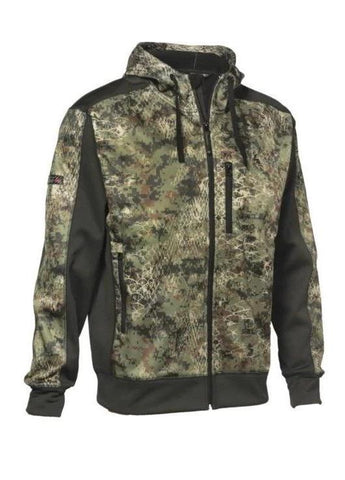 Veste de chasse camouflage Wolf Forest kaki Ligne Verney-Carron - Approche Chasse