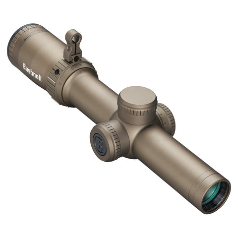 Lunette de tir 1-6,5x24 mm Bushnell Elite Tactical SMRS II réticule lumineux CQ BDC SPF - Flat Dark Earth