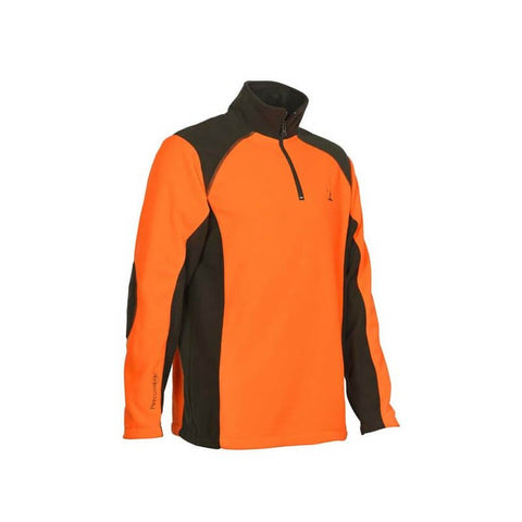 Polo Percussion polaire orange