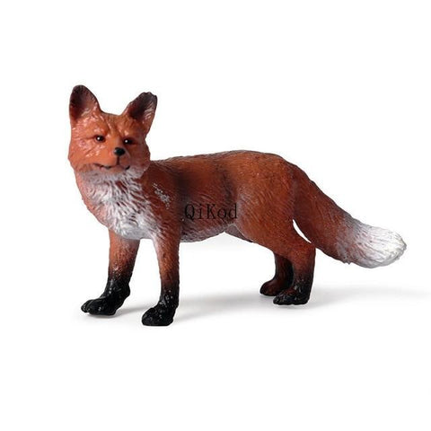 Statuette renard Wildlife Animals PVC