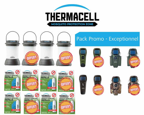 Pack promo Thermacell - Approche Chasse