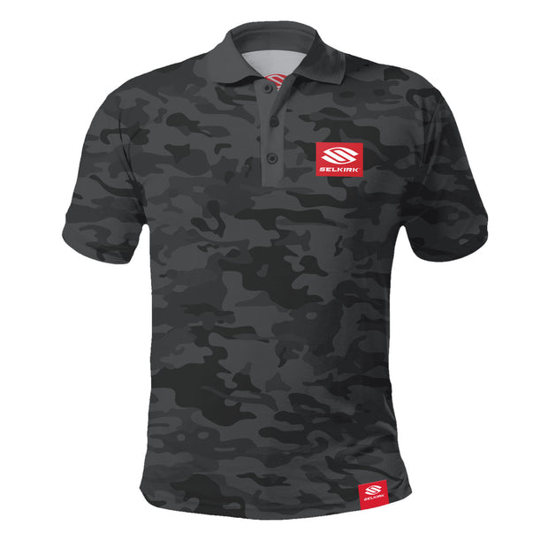 Selkirk Red Label Camo Men's Polo Stretch-Wik Technology