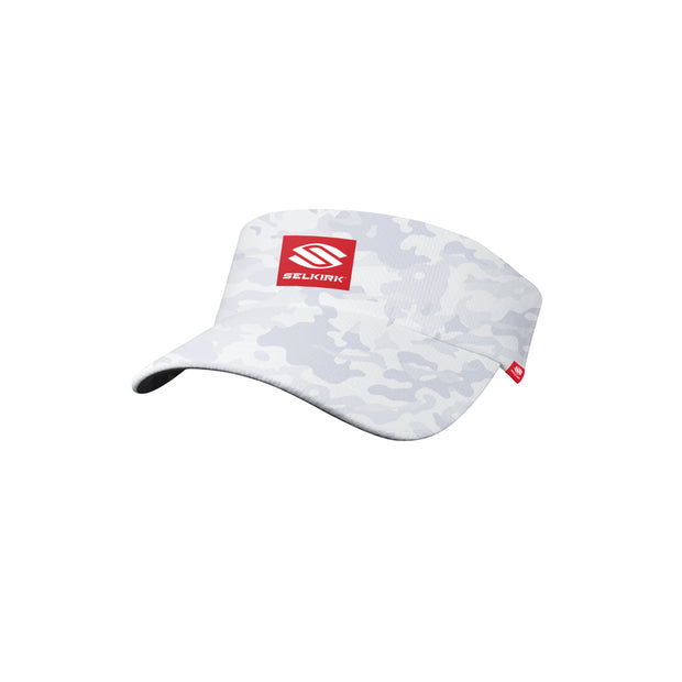 Selkirk Red Label Camo Unisex Stretch Performance Visor