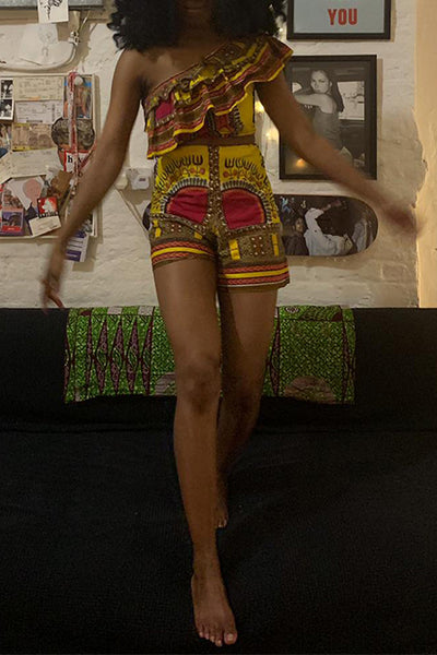 African Co-ord Set