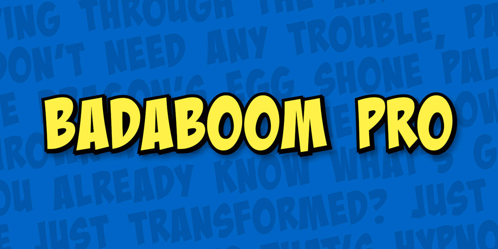 Sound Effect Fonts – Blambot Comic Fonts & Lettering