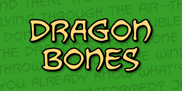 Dragon Bones Fonts