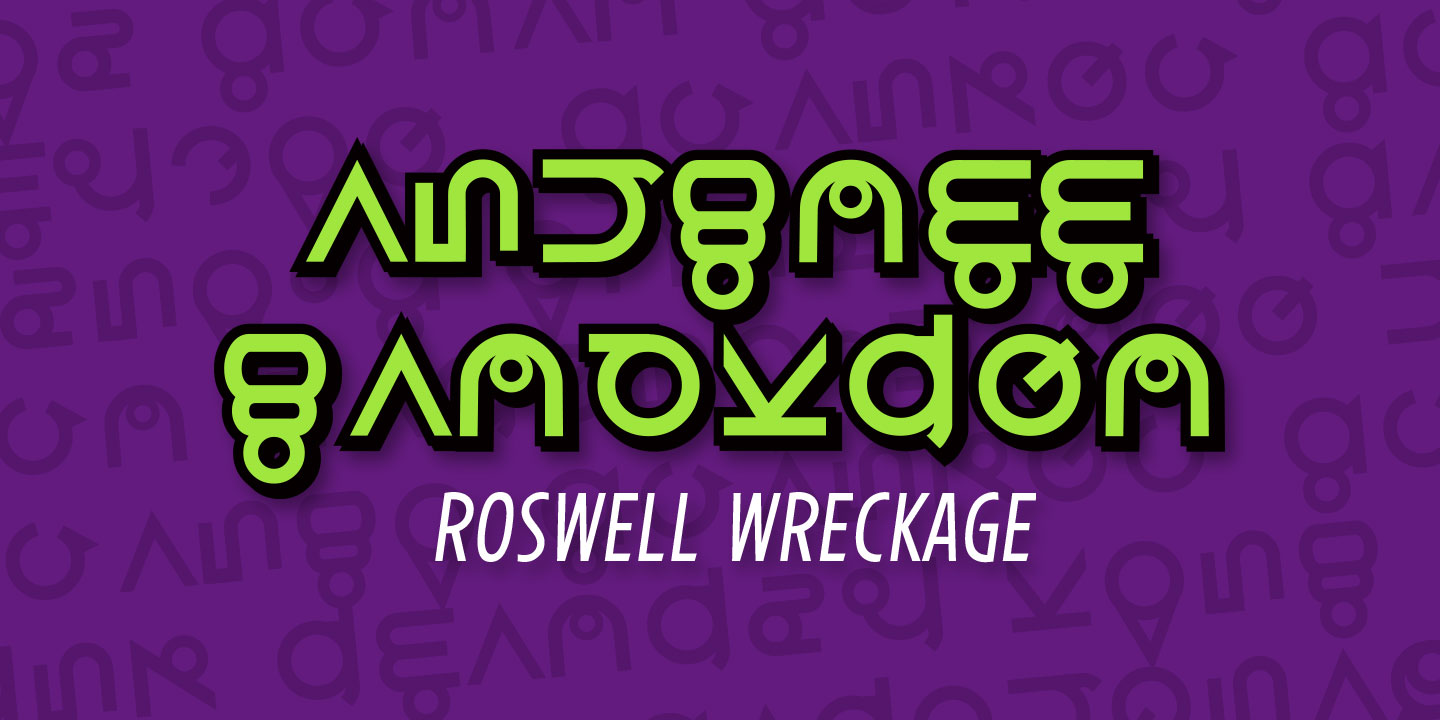Roswell Wreckage