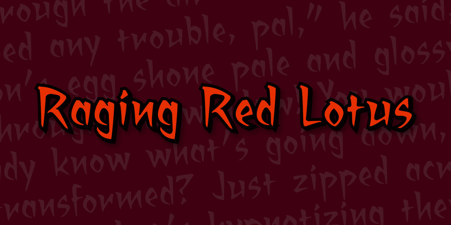 Raging Red Lotus