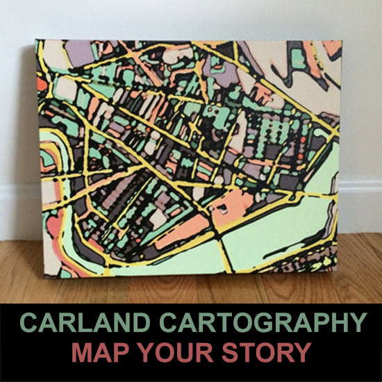 In The Studio : An Interview With Carland Cartography