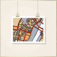 Load image into Gallery viewer, Boston Chinatown - Carland Cartography