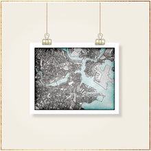Load image into Gallery viewer, Boston, MA - Carland Cartography