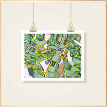 Load image into Gallery viewer, Brookline Village, Boston MA - Carland Cartography