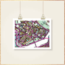 Load image into Gallery viewer, Cambridge, MA (Purple) - Carland Cartography