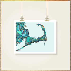 Cape Cod (Blue) - Carland Cartography