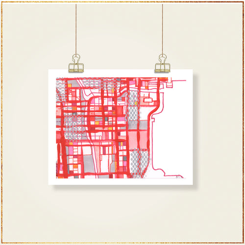 Chicago Loop (Red) - Carland Cartography